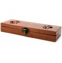 A. P. Donovan dřevěná dárková krabička na břitvy