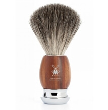 Mühle Vivo Plum Treewood Pure Badger štětka na holení