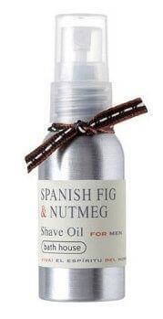 Bath House Spanish Fig & Nutmeg olej na holení 30 ml