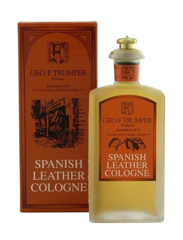 Geo F. Trumper Spanish Leather, kolínská voda 100 ml