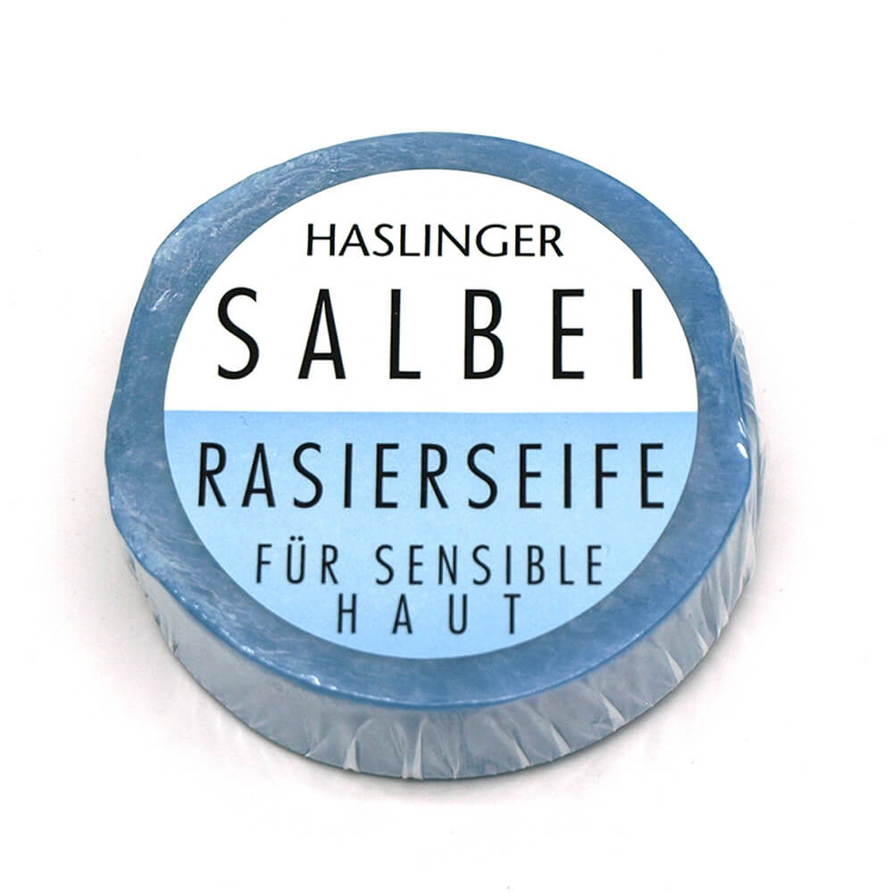 Haslinger Sage mýdlo na holení 60 g