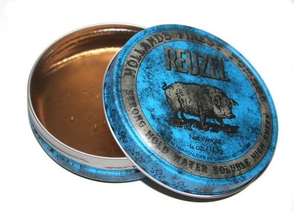 Reuzel Blue Strong Hold High Sheen Pig, pomáda na vlasy 113 g