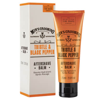 Scottish Fine Soaps Thistle and Black Pepper balzám po holení