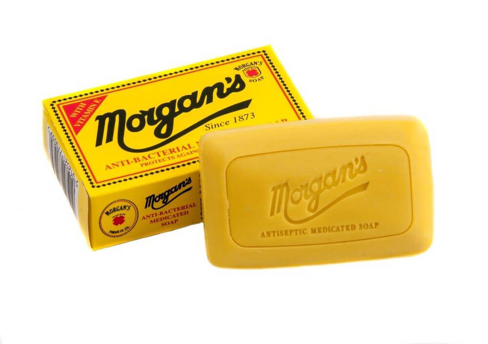 Morgans antibakteriální mýdlo 80g