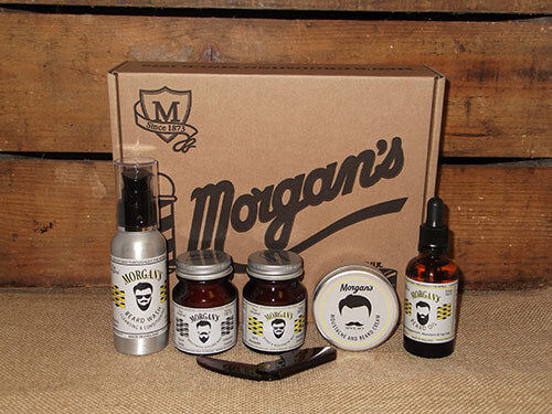 Morgans Gentlemans Moustache and Beard Set