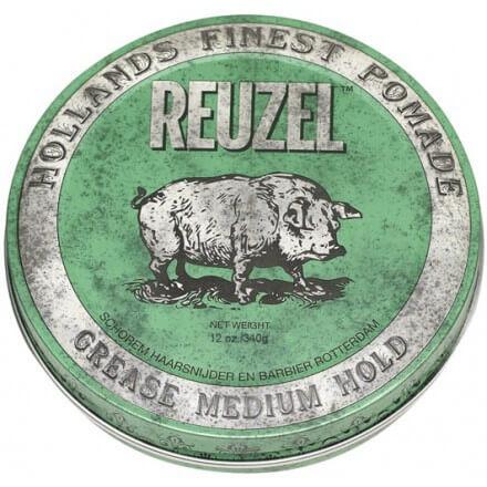 Reuzel Green Grease Medium Hold 340g, pomáda na vlasy