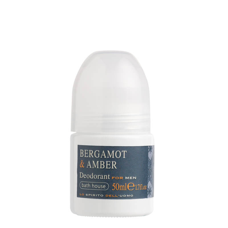 Bath House Bergamot & Amber deodorant 50 ml