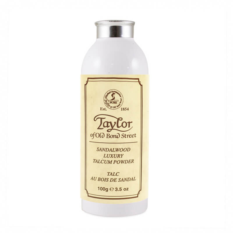 Taylor of Old Bond Street Sandalwood tělový pudr 100 g