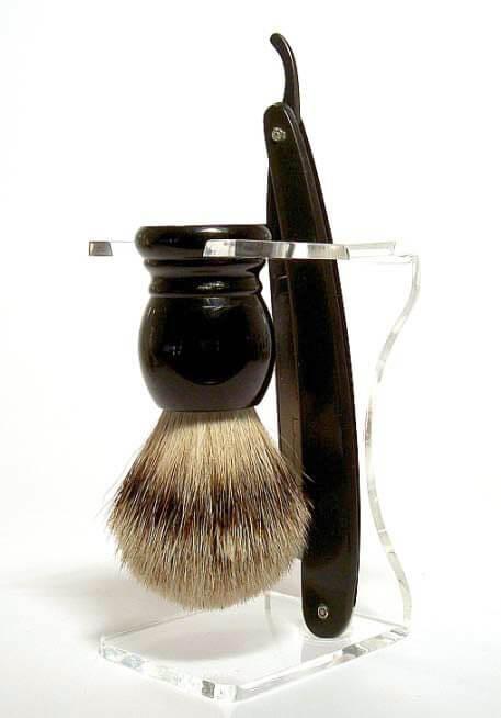 Hans Baier Black Silvertip sada na holení
