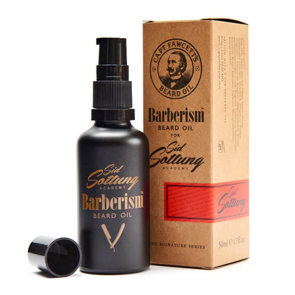 Captain Fawcett Barberism, olej na vousy 50 ml