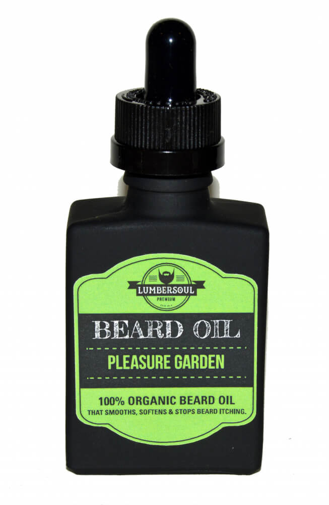 Lumbersoul Pleasure Garden, olej na vousy 30 ml