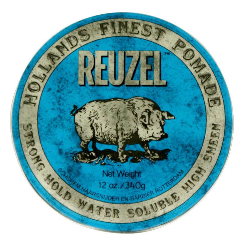 Reuzel Blue Strong Hold High Sheen 340g, pomáda na vlasy