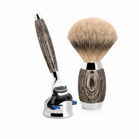 Mühle Edition No. 3 Bog Oak & Sterling Silver Fusion 3-dílná