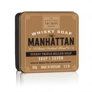 Scottish Fine Soaps Whisky Manhattan mýdlo