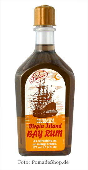 Clubman Virgin Island Bay Rum, voda po holení 177 ml