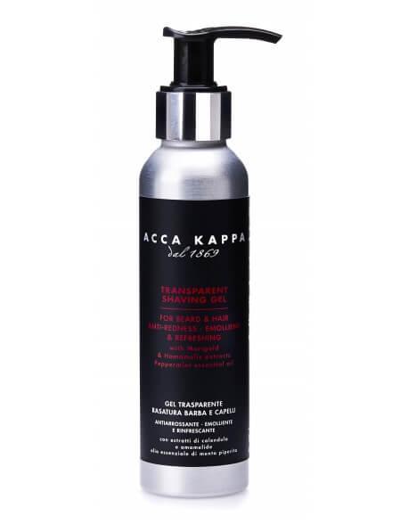 Acca Kappa, transparentní gel na holení 125 ml