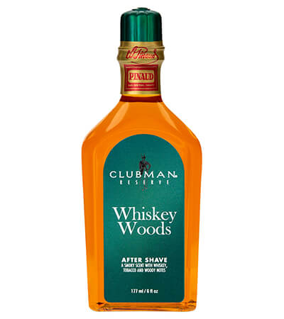 Clubman Pinaud Whiskey Woods voda po holení 177 ml