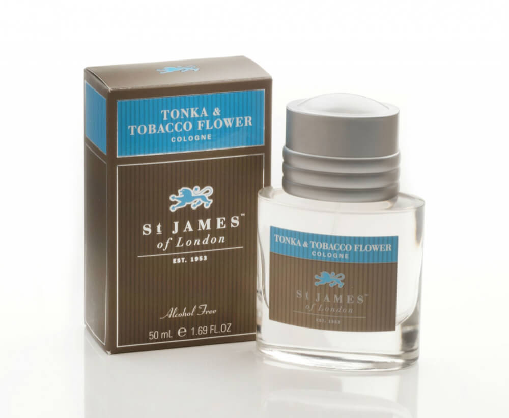 St James of London Tonka & Tobacco Flower, kolínská 50 ml