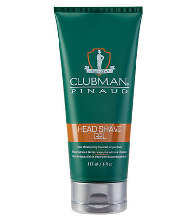 Clubman Pinaud Head Shave Gel 177 ml