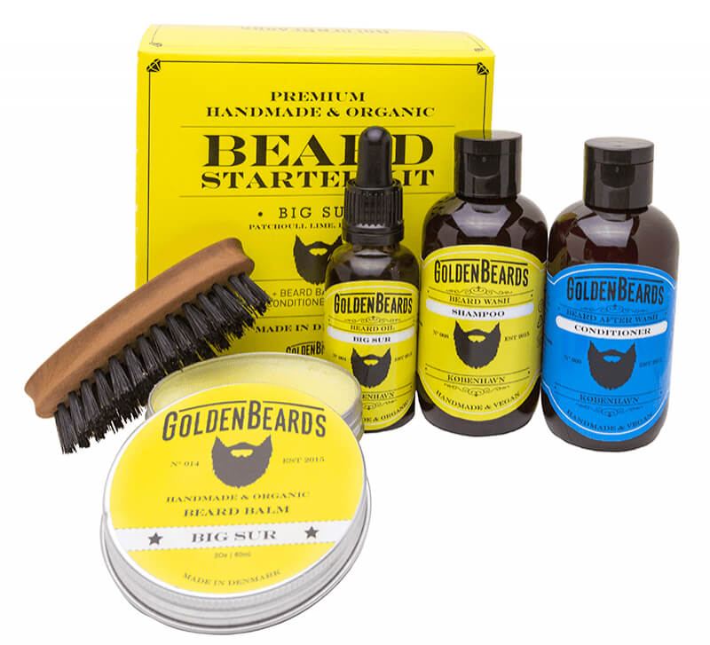 Golden Beards Starter set Big Sur sada