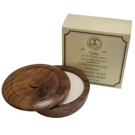 Taylor of Old Bond Street Sandalwood miska na holení a mýdlo 100 g