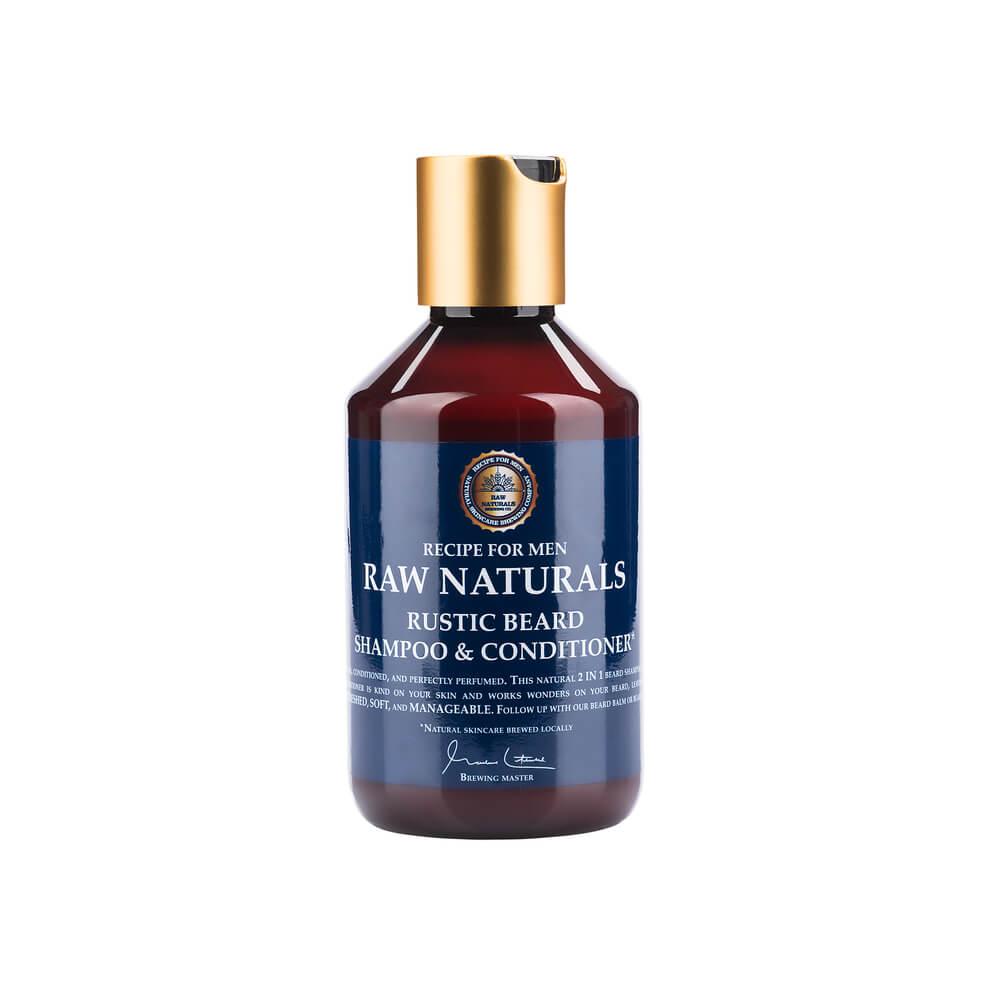 Recipe For Men Raw Naturals Rustic Beard šampon a kondicionér na vousy 250 ml