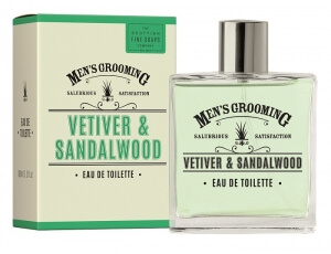 Scottish Fine Soaps Vetiver and Sandalwood toaletní voda