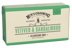 Scottish Fine Soaps Vetiver and Sandalwood mýdlo