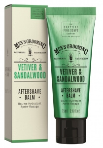 Scottish Fine Soaps Vetiver and Sandalwood balzám po holení