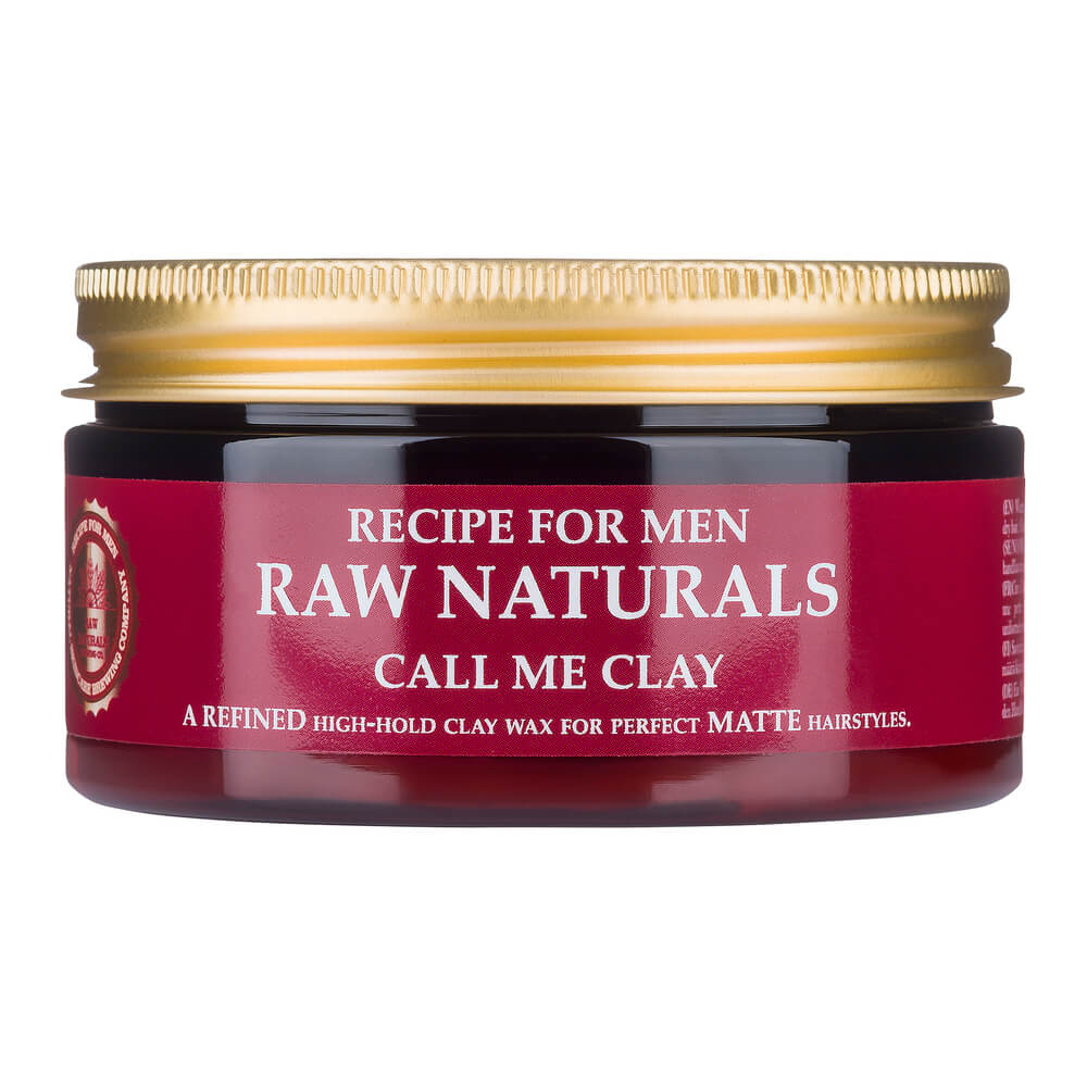 Recipe For Men Raw Naturals Call Me Clay 100 ml