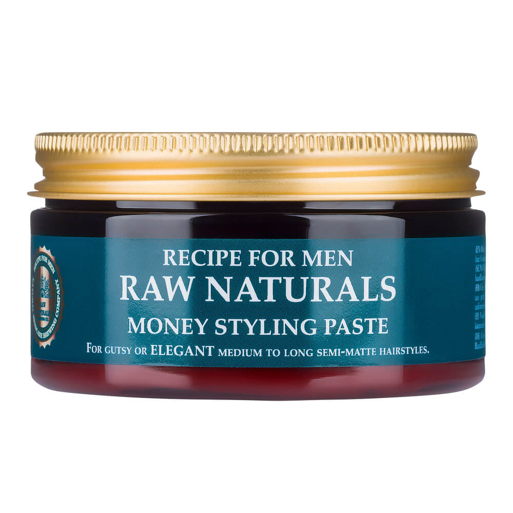 Recipe For Men Raw Naturals Money Styling Paste 100 ml