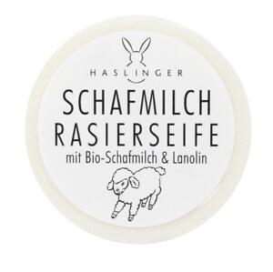 Haslinger Schafmilch mýdlo na holení 60 g