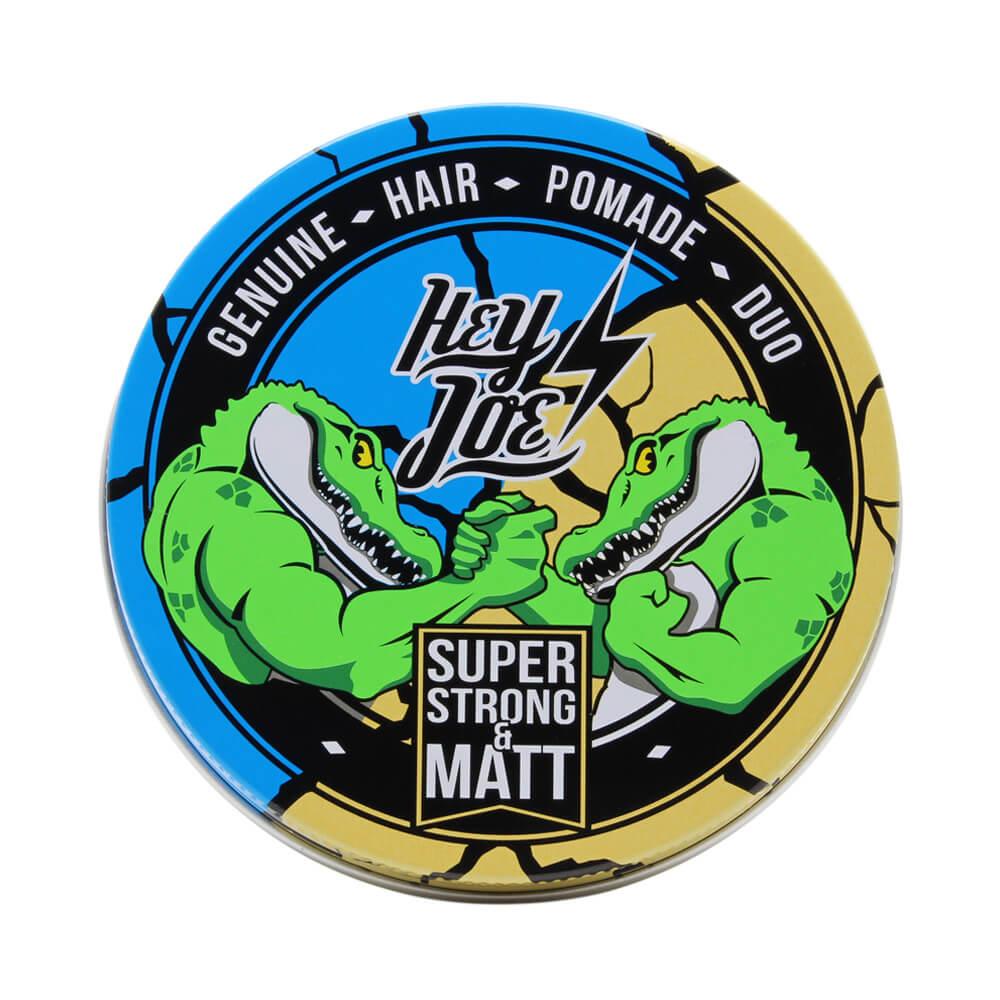 Hey Joe Duo Super Strong Matt pomáda 100 ml