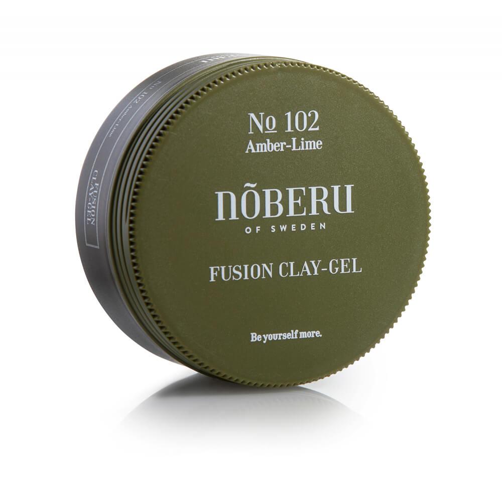 Noberu Amber-Lime Fusion Clay-Gel na vlasy 80 ml