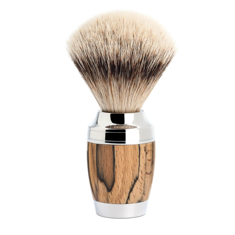 Mühle Stylo Spalted Beech Silvertip Badger