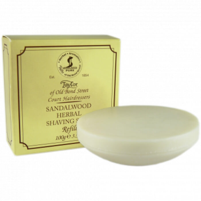 Taylor of Old Bond Street Sandalwood mýdlo na holení 100 g