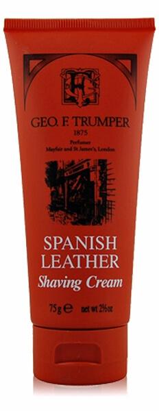 Geo F. Trumper Spanish Leather, krém na holení 75 g