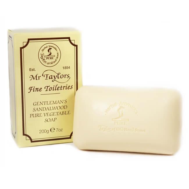 Taylor of Old Bond Street Sandalwood koupelové mýdlo 200 g