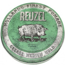 Reuzel Green Grease Medium Hold Hog, pomáda na vlasy 340g