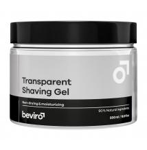 Beviro transparentní gel na holení 500 ml