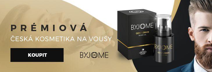 Luxusní-holení.cz - Kosmetika na vousy Byjome