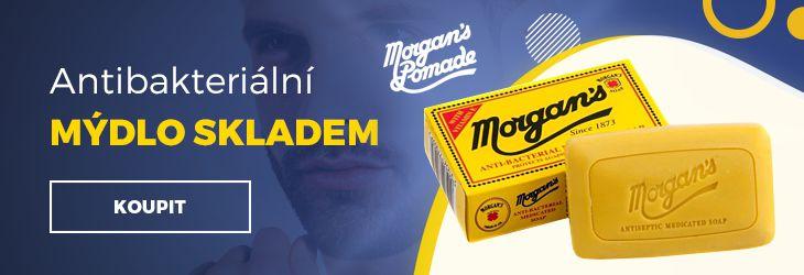 Luxusní-holení.cz - Morgans antibakteriální mýdlo